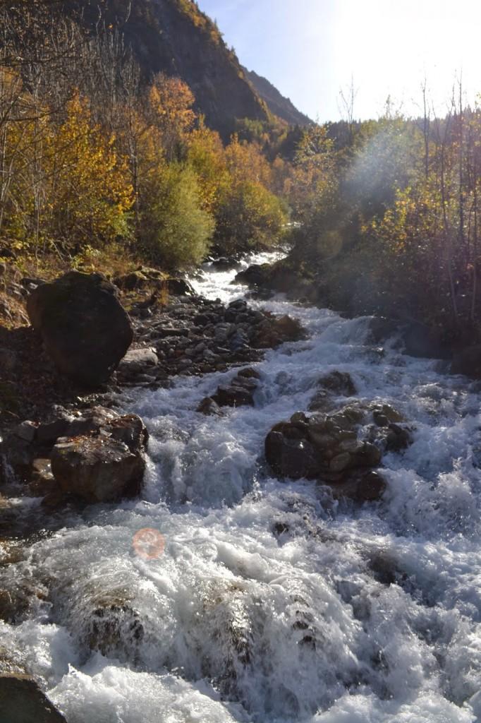 automne  lac lauvitel