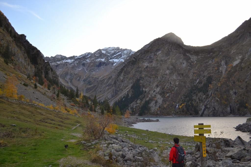 sentier  lac lauvitel