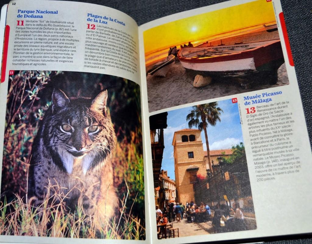Lonely Planet : page de présentation avec photos