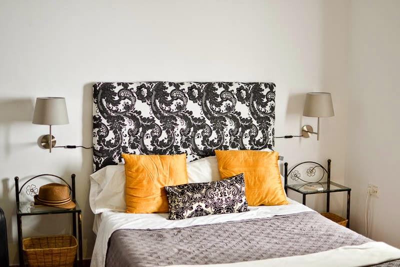 chambre d'un airbnb à seville
