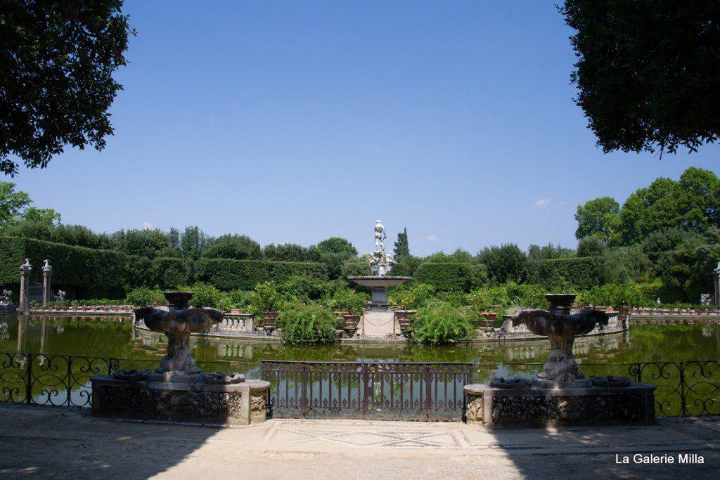 jardin di boboli - fontaine