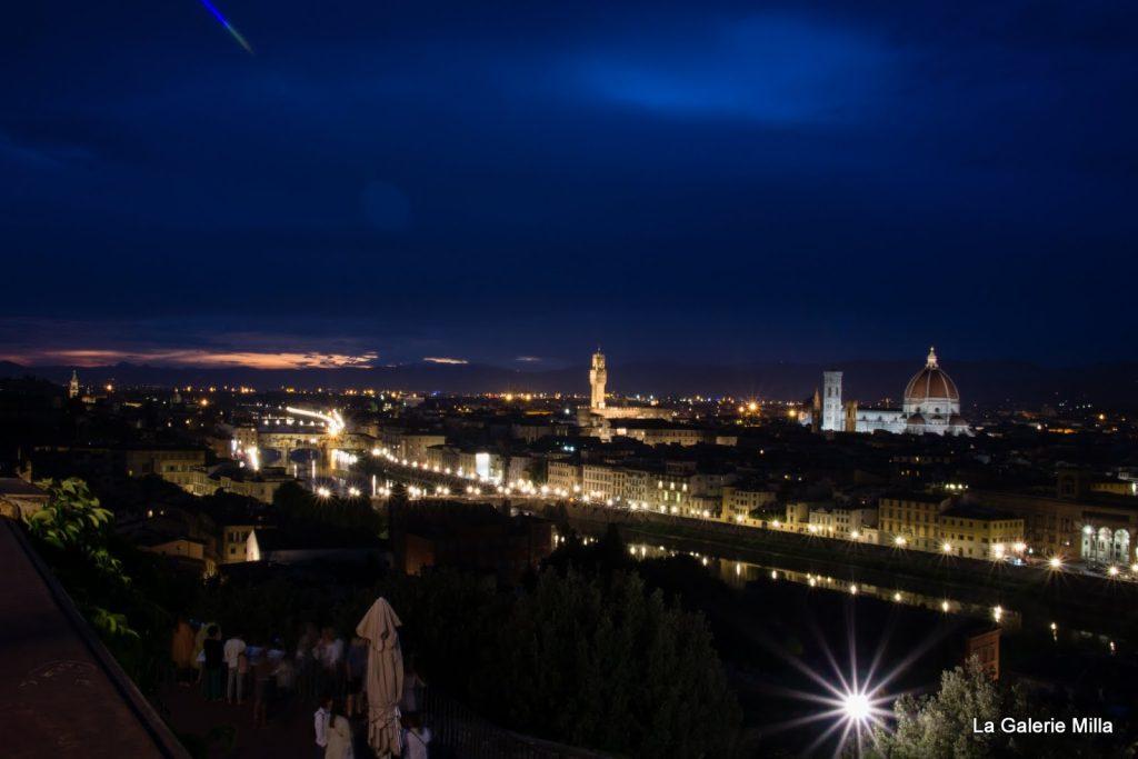 panorama de nuit de florence