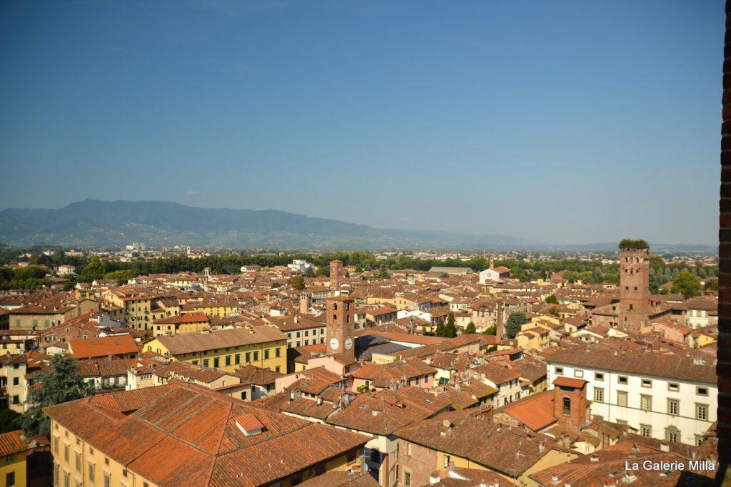 les tours de Lucca, Italie